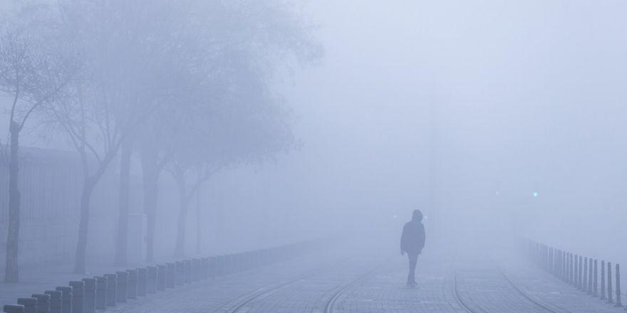 Konya'dan sis manzaraları