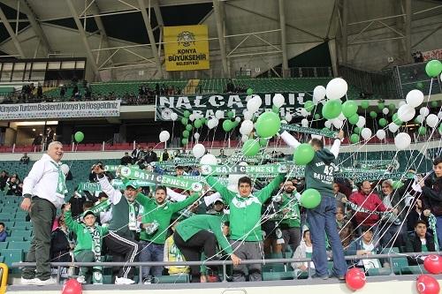 Konyaspor-Sivasspor maçının kareleri 1