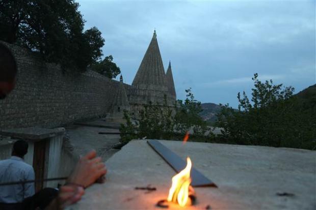 Yezidiler 'Kırmızı Çarşamba'yı kutladılar 10