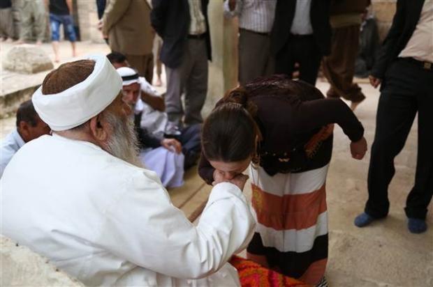 Yezidiler 'Kırmızı Çarşamba'yı kutladılar 18