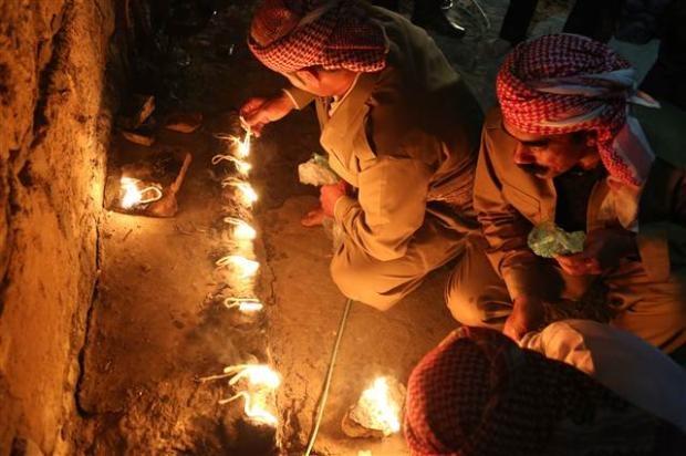 Yezidiler 'Kırmızı Çarşamba'yı kutladılar 2