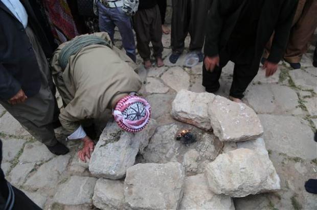 Yezidiler 'Kırmızı Çarşamba'yı kutladılar 21