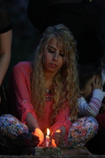 Yezidiler 'Kırmızı Çarşamba'yı kutladılar 25