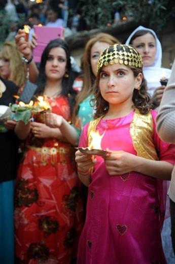 Yezidiler 'Kırmızı Çarşamba'yı kutladılar 29