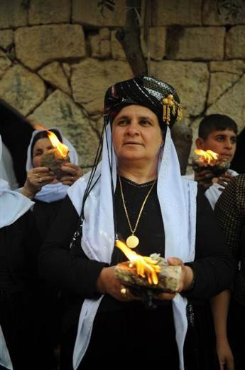 Yezidiler 'Kırmızı Çarşamba'yı kutladılar 3