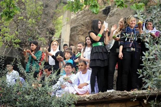 Yezidiler 'Kırmızı Çarşamba'yı kutladılar 31