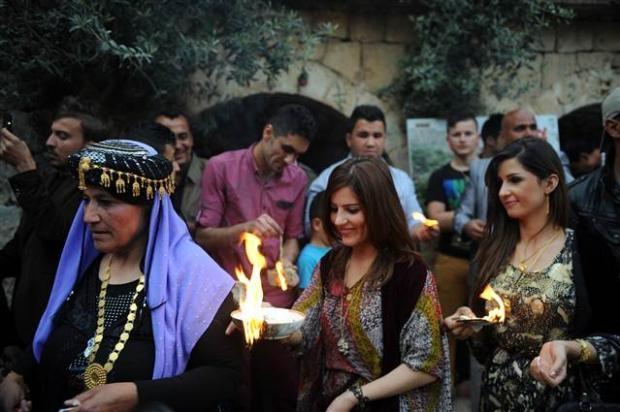 Yezidiler 'Kırmızı Çarşamba'yı kutladılar 4