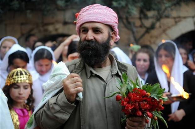 Yezidiler 'Kırmızı Çarşamba'yı kutladılar 5