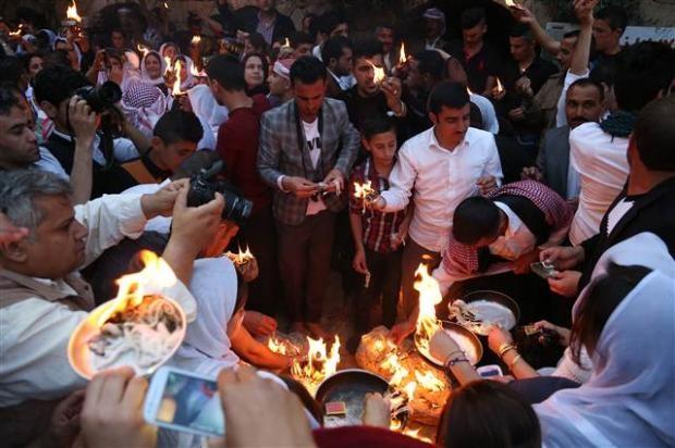 Yezidiler 'Kırmızı Çarşamba'yı kutladılar 6