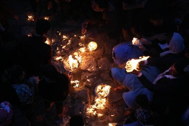 Yezidiler 'Kırmızı Çarşamba'yı kutladılar 8