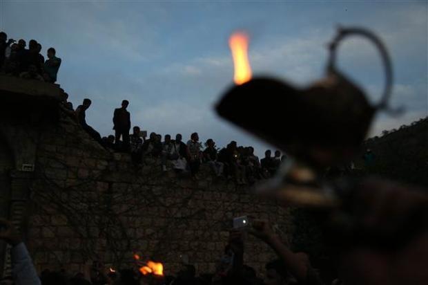 Yezidiler 'Kırmızı Çarşamba'yı kutladılar 9