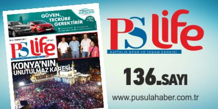 PSLİFE 136. SAYI
