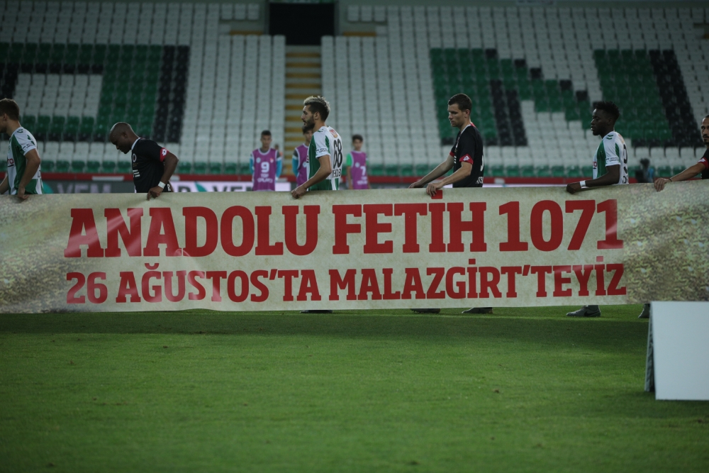 Konyaspor - Gençlerbirliği Maçından Kareler 1