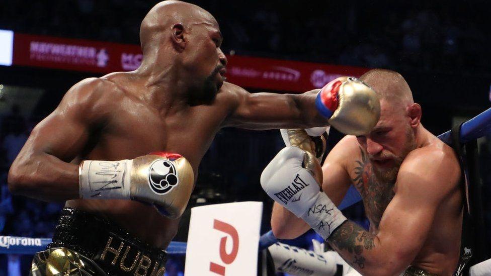 Floyd Mayweather-Conor McGregor boks maçı 1