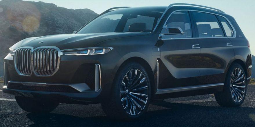 BMW'nin Yeni Aracı: X7 iPerformance