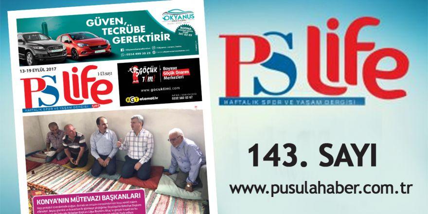 PSLİFE 143. SAYI