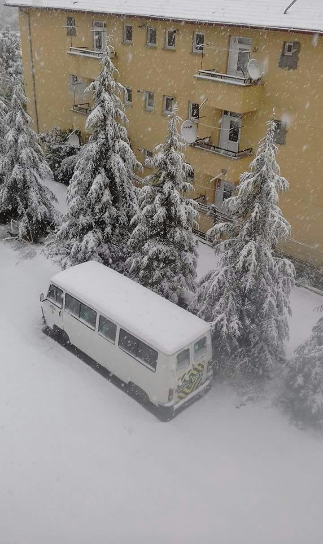 Seydişehir karlar altında 1