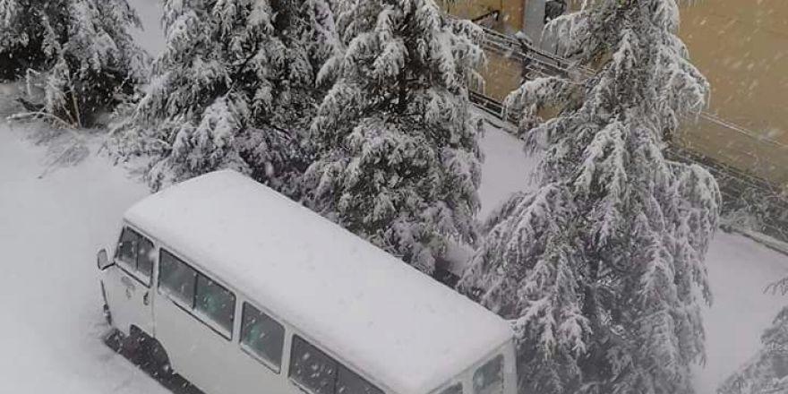 Seydişehir karlar altında