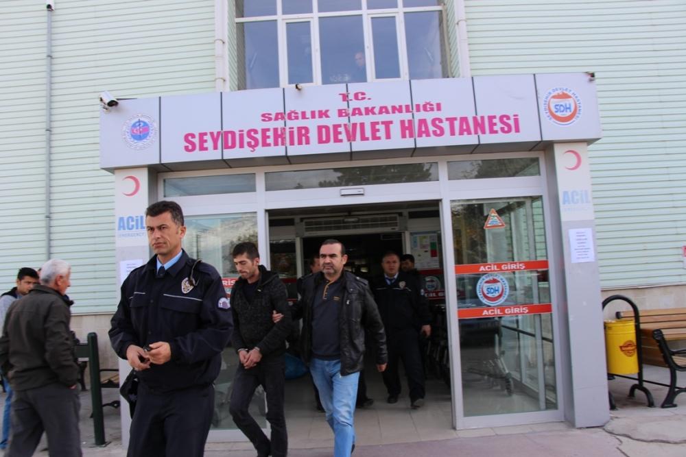 Seydişehir'de uyuşturucu operasyonu 1