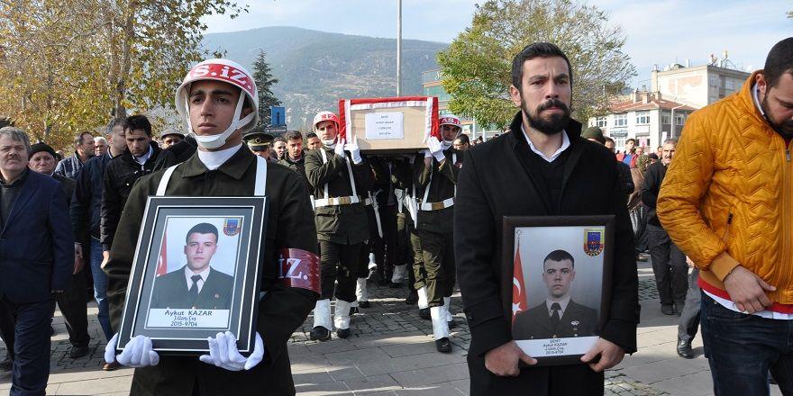 Konyalı Şehit Uzman Çavuş Aykut Kazar gözyaşlarıyla toprağa verildi