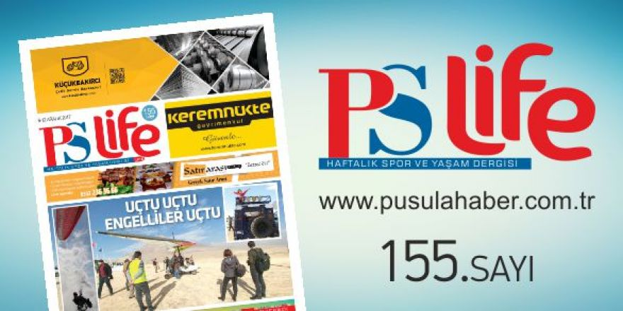 PSLİFE 155. SAYI
