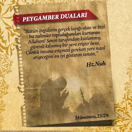 Peygamberlerin Kur'an'da geçen duaları 10