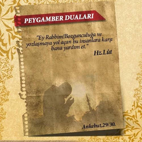Peygamberlerin Kur'an'da geçen duaları 12