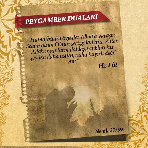 Peygamberlerin Kur'an'da geçen duaları 14