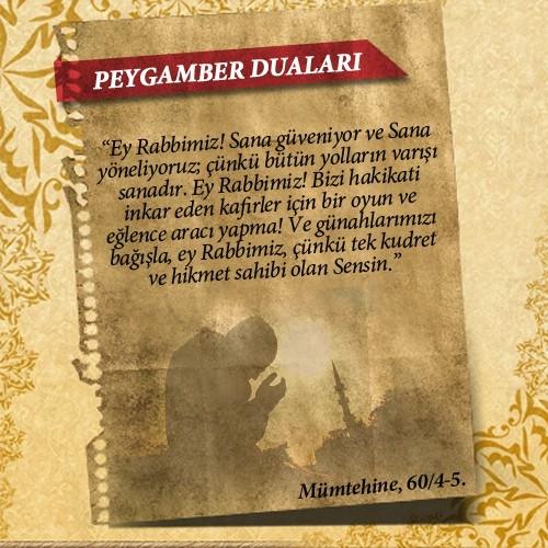 Peygamberlerin Kur'an'da geçen duaları 15
