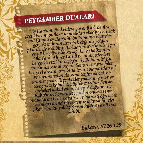 Peygamberlerin Kur'an'da geçen duaları 18