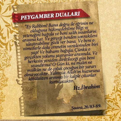 Peygamberlerin Kur'an'da geçen duaları 19