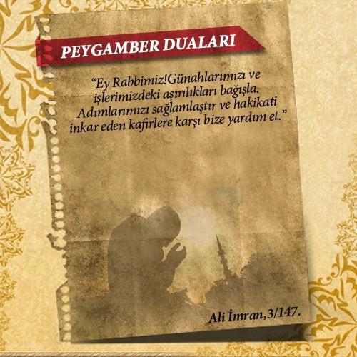 Peygamberlerin Kur'an'da geçen duaları 2