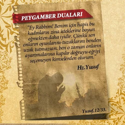Peygamberlerin Kur'an'da geçen duaları 20