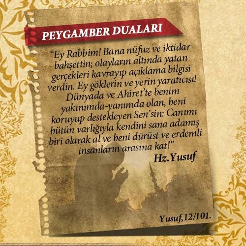 Peygamberlerin Kur'an'da geçen duaları 21