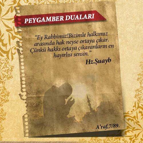 Peygamberlerin Kur'an'da geçen duaları 23