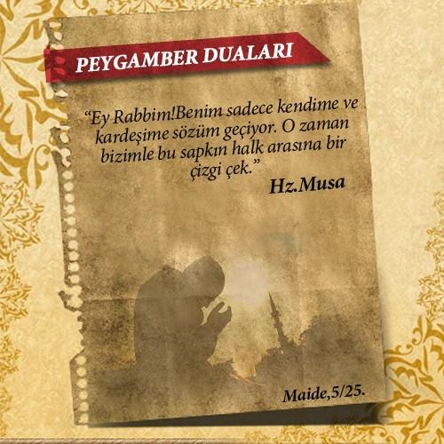 Peygamberlerin Kur'an'da geçen duaları 27