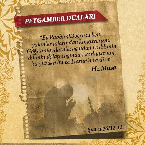 Peygamberlerin Kur'an'da geçen duaları 28