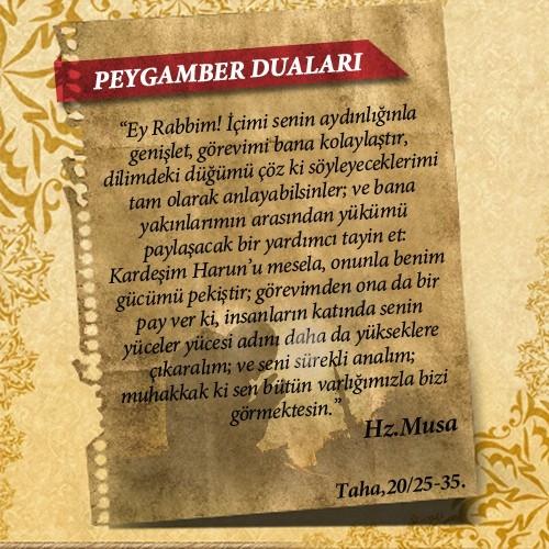 Peygamberlerin Kur'an'da geçen duaları 29