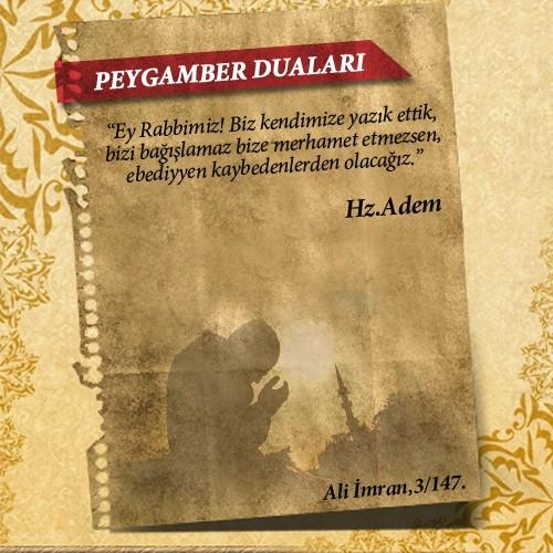 Peygamberlerin Kur'an'da geçen duaları 3