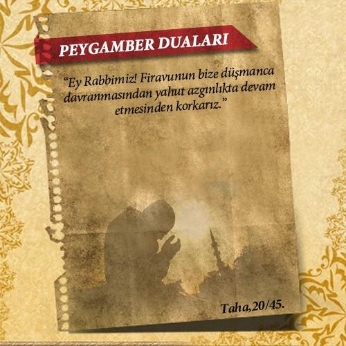 Peygamberlerin Kur'an'da geçen duaları 30
