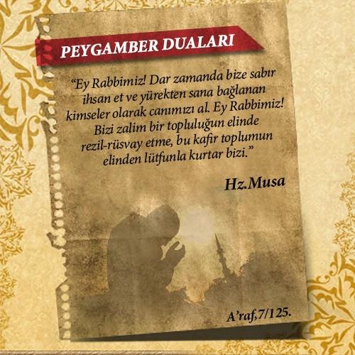 Peygamberlerin Kur'an'da geçen duaları 31
