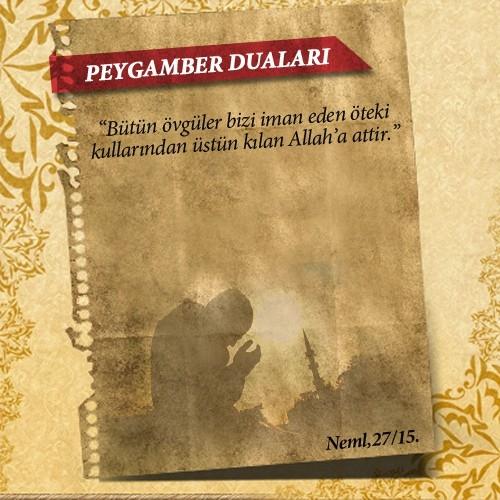 Peygamberlerin Kur'an'da geçen duaları 35