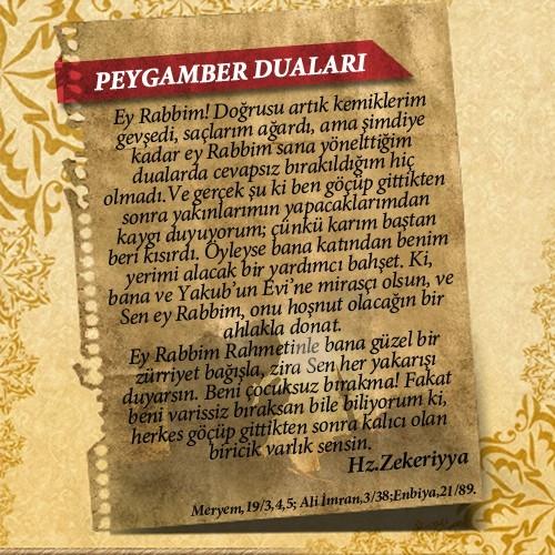 Peygamberlerin Kur'an'da geçen duaları 38
