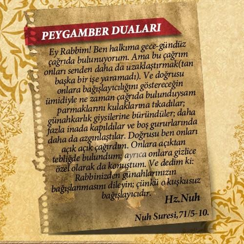 Peygamberlerin Kur'an'da geçen duaları 4