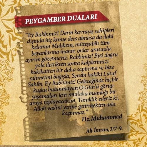 Peygamberlerin Kur'an'da geçen duaları 43