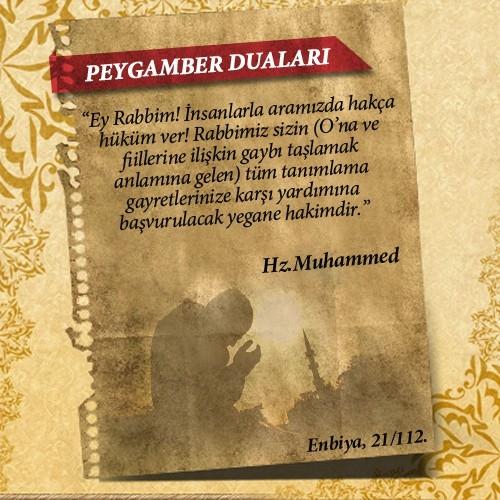 Peygamberlerin Kur'an'da geçen duaları 50