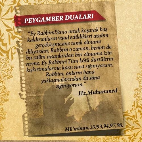 Peygamberlerin Kur'an'da geçen duaları 54
