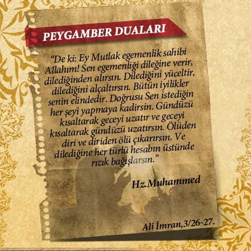 Peygamberlerin Kur'an'da geçen duaları 56
