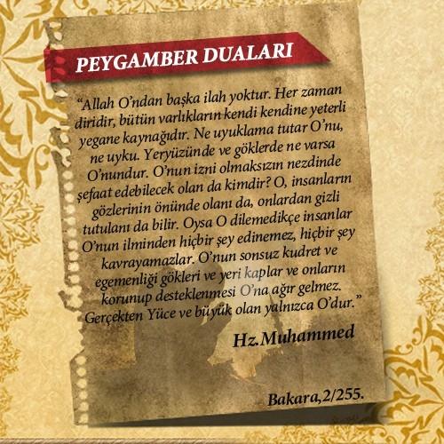 Peygamberlerin Kur'an'da geçen duaları 57