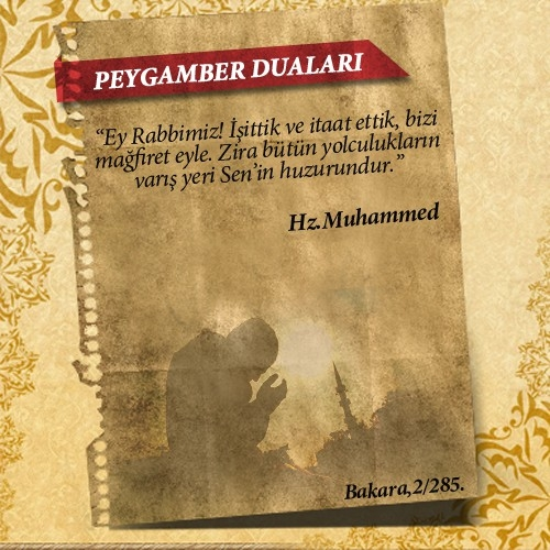 Peygamberlerin Kur'an'da geçen duaları 58